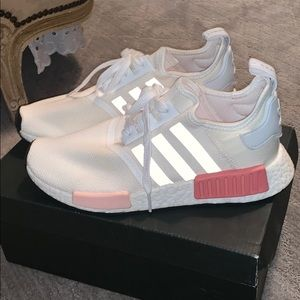 adidas Shoes - Adidas NMD R1 White Rose Icey Pink